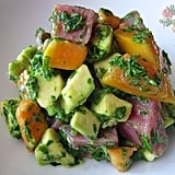 Papaya Avocado Tuna Ceviche