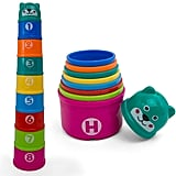 Kidsthrill Educational Rainbow Stacking & Nesting Cups
