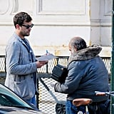 Joshua Jackson Gets Back to Normal in the Big Apple