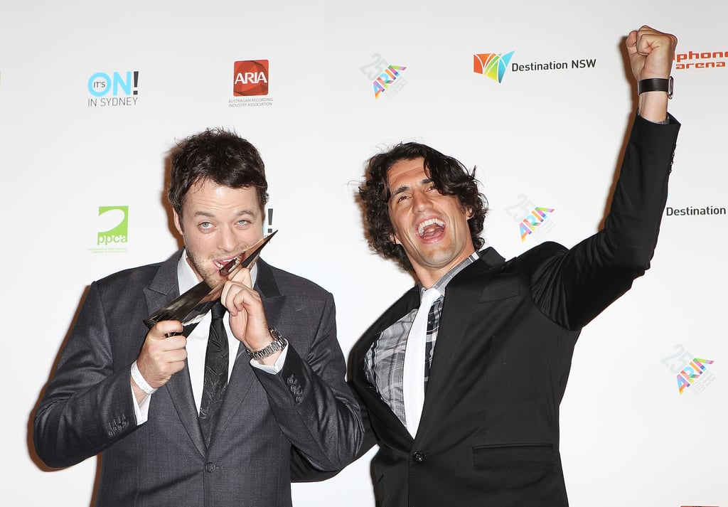 Hamish and Andy won best comedy act at the 2011 ARIA Awards.