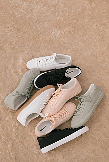 Madewell Sidewalk Sneaker Collection 2019