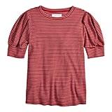 The Stripe: A Puffy-Sleeve Tee