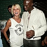 Heidi and Seal attended the afterparty for a Marc Jacobs show in September 2003.