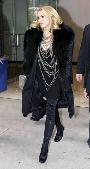 Guess Who Designed Madonna's Fabulously Gothic Outfit?
