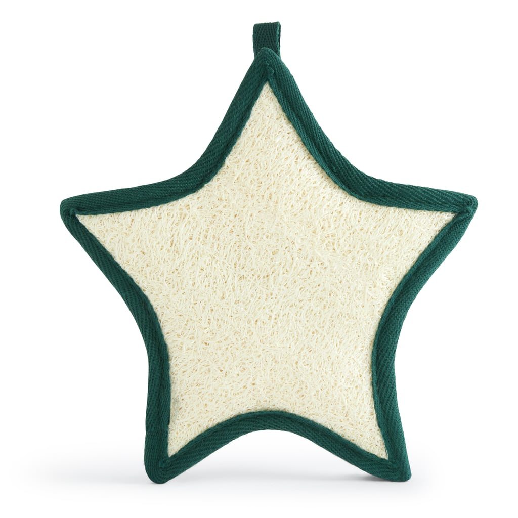 The Body Shop Star-Shaped Exfoliating Christmas Loofah