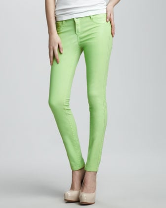 Three reasons why we love these reversible Bleu Lab jeans ($75, originally $216): the lovely lime hue (hello, St. Patrick's Day), the reverse paisley print, and the sale price.