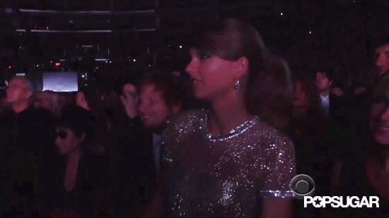 Taylor Swift Gets Down, While Beyoncé Performs