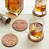 Neighborwoods Map Coasters ($36)