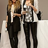 Pip Edwards and Jennifer Hawkins at a Lovable event in 2009
