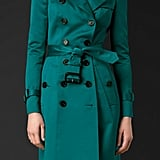 Burberry Prorsum Cotton Sateen Trench Coat ($2,295)