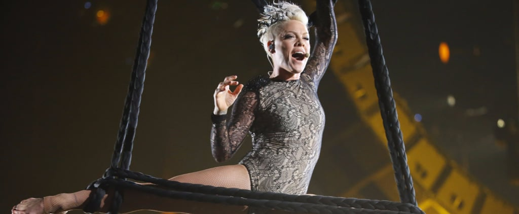 The Most Gorgeous Pictures of Pink Flying Through the Air