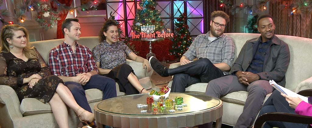The Night Before Cast's Holiday Mad Libs Will Make You LOL — or Should We Say Ho Ho Ho?