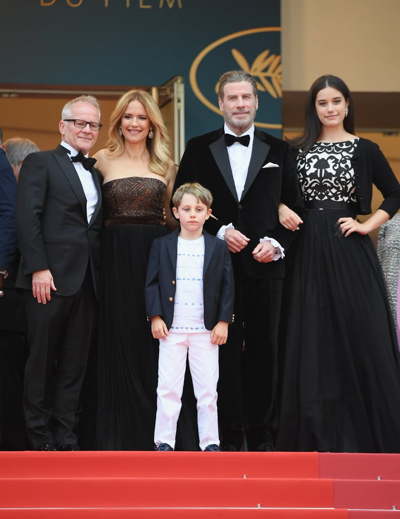 John Travolta and His Family at Cannes Film Festival 2018