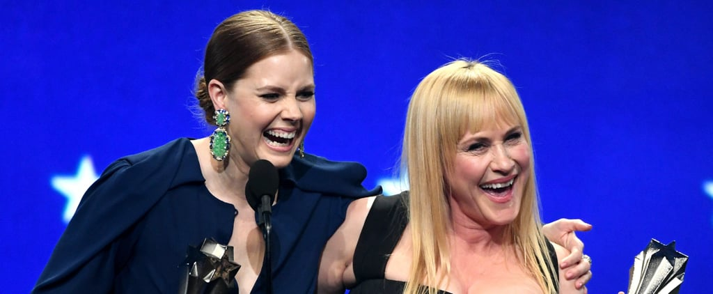 Amy Adams and Patricia Arquette Tie at 2019 Critics' Choice