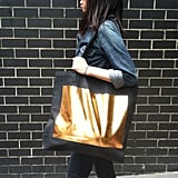 This oversize canvas tote ($45) from TotesCool is perfect for the friend who carries around everything but the kitchen sink. Whether she uses it as a gym bag or just to haul groceries, it's a modern, eco-friendly accessory that will never go out of style. — Britt Stephens, assistant entertainment editor