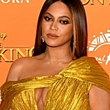 Beyoncé's Gold Makeup Look at The Lion King
