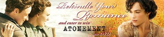 Rekindle Your Romance with Atonement DVD and iVillage