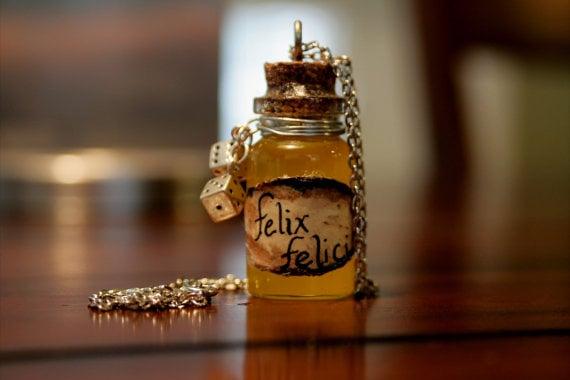 Felix Felicis necklace ($10)
