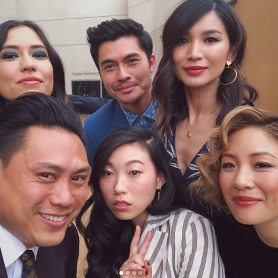 Crazy Rich Asians Cast Hanging Out