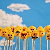 Lego Cake Pop