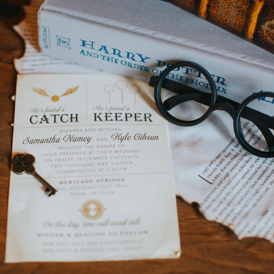 Elegant Harry Potter Wedding