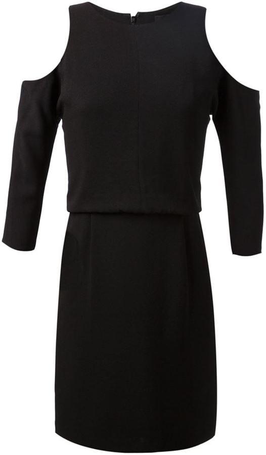 Tibi Cold Shoulder Dress ($415)