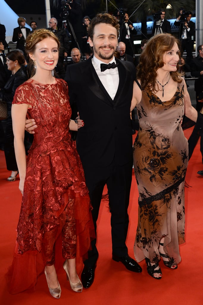 Ahna O'Reilly, James Franco and Beth Grant got all dressed up for the premiere of As I Lay Dying.