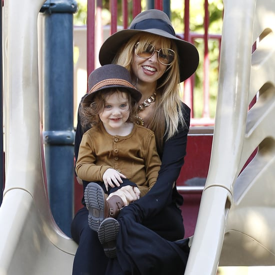 Rachel Zoe With Skyler at a Playground | Photos
