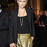 Cody Horn posed for photos at the Golden Heart Gala.