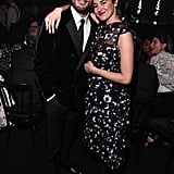 Sam Claflin and Shailene Woodley at the British Fashion Awards 2019 in London