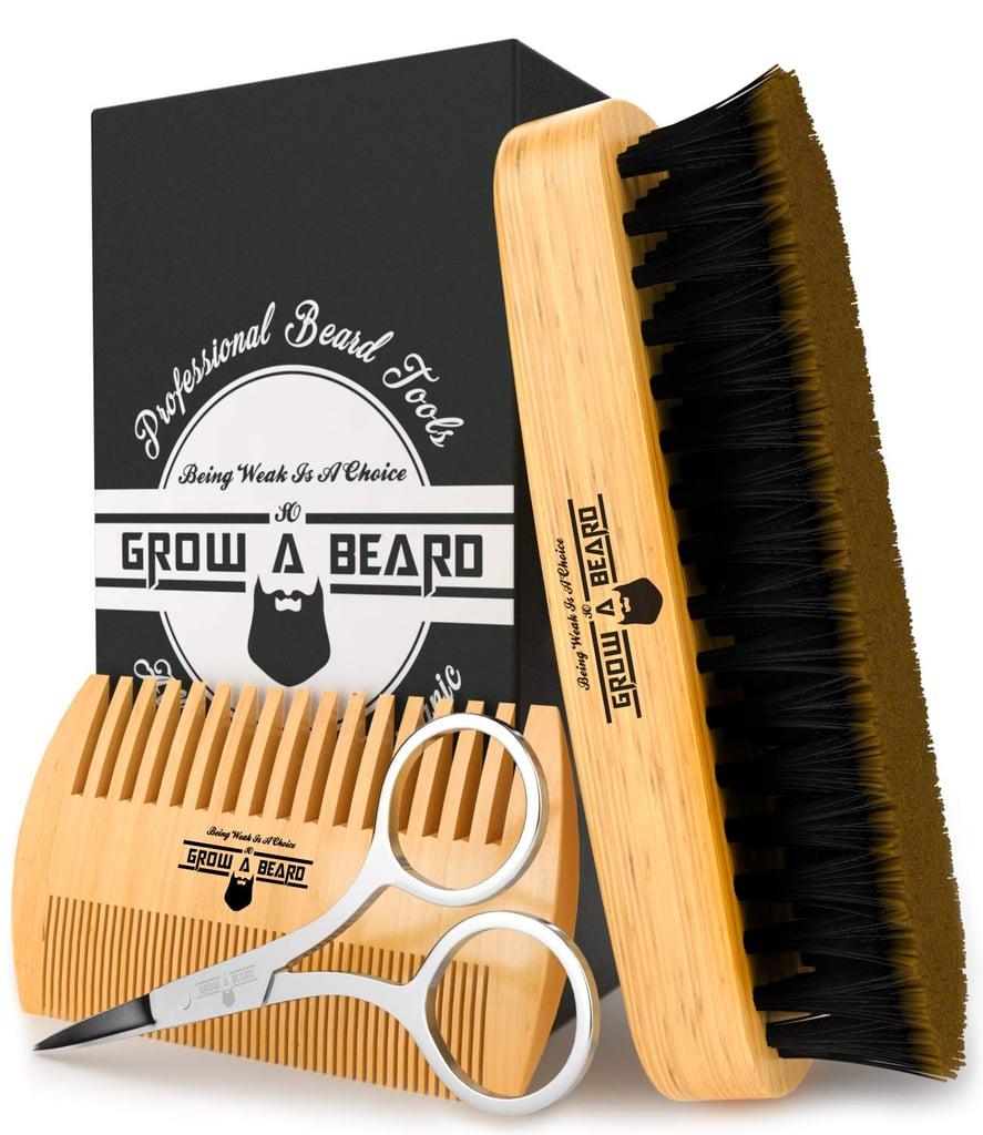 Grow a Beard Brush & Comb Set