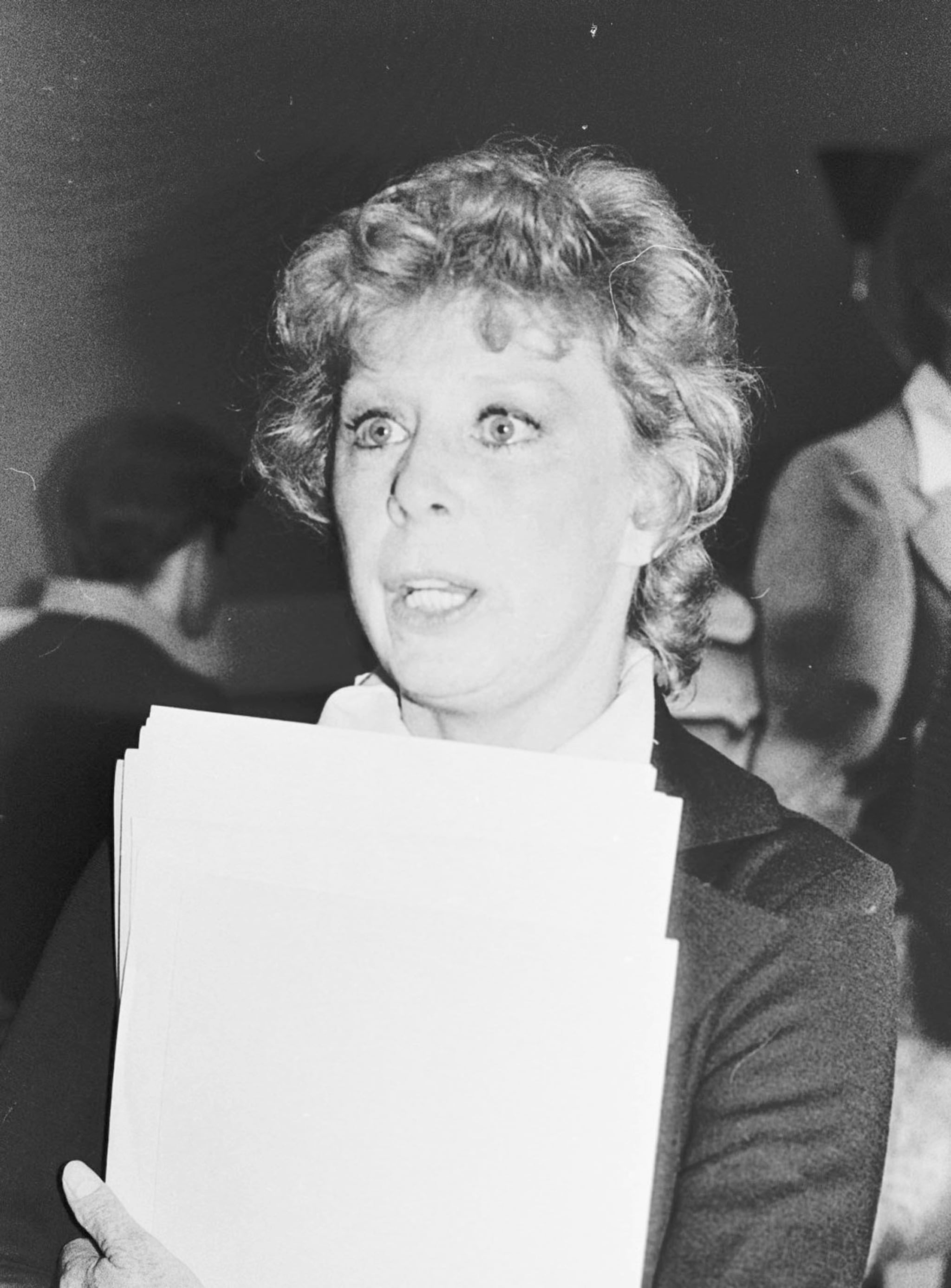 Gwen Verdon during Lincoln Center Celebrity Auction - November 20, 1975 in New York City, New York, United States. (Photo by Bobby Bank/WireImage)