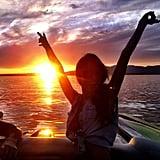 Audrina Patridge celebrated Memorial Day weekend in the sun.  Source: Instagram user audrinapatridge