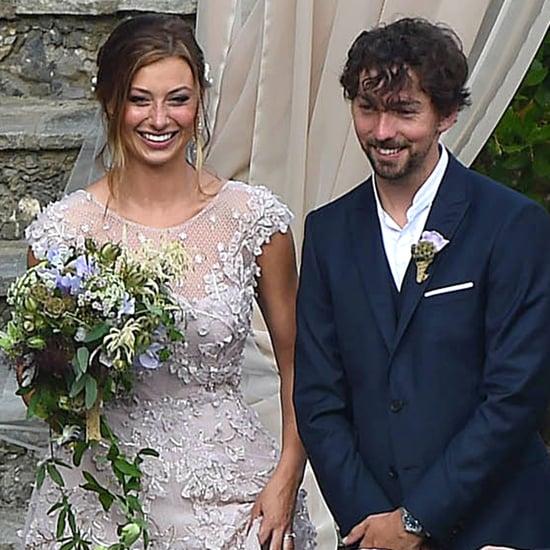 Alyson Michalka's Wedding in Portofino, Italy June 2015