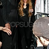 Lindsay Lohan Shopping and Clubbing