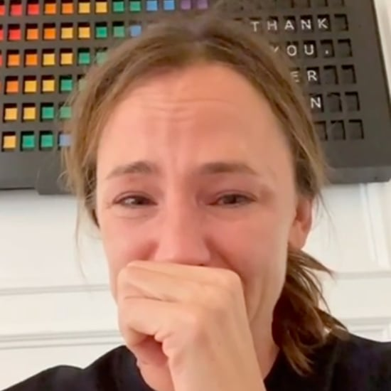 Jennifer Garner Cries After The Office Finale With Her Kids
