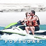 In October 2017, Scott Disick and Sofia Richie kissed while on a jet ski in the ocean in Mexico.