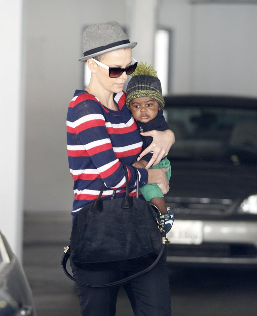 Charlize Theron entered the world of motherhood for the first time after confirming that she adopted Jackson Theron in March.