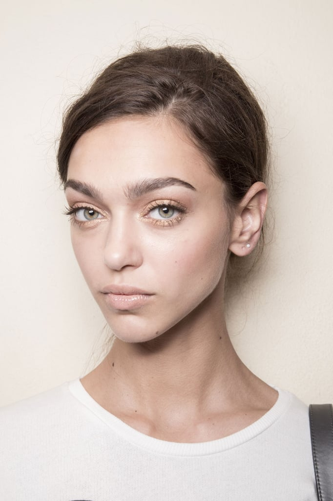 The Best Hair Makeup Nail Trends From Spring Fashion Week  Popsugar Beauty Australia-7645