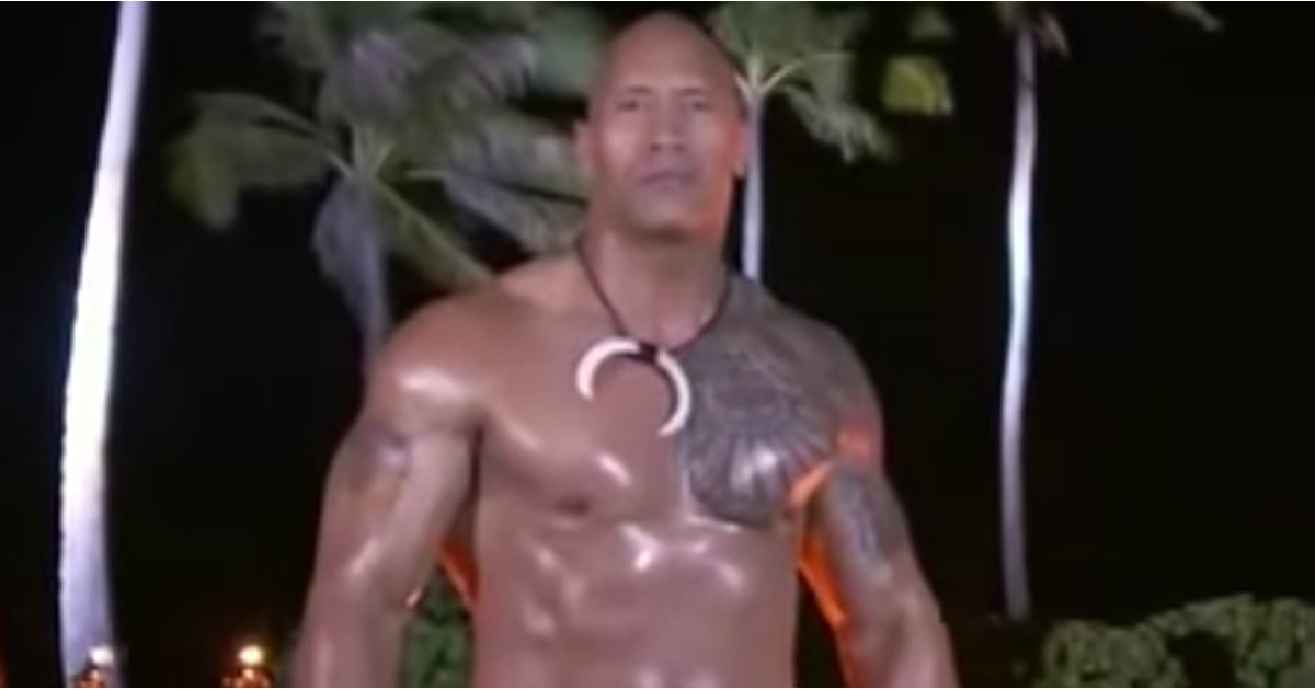 Dwayne Johnson Samoan Slap Dance Video September 2016