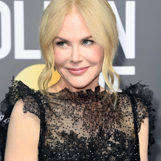 Nicole Kidman Golden Globes Dress 2018