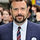 Jason Sudeikis with interesting facial hair.
