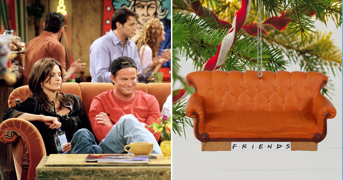 "We Didn't Even Have a ""Pla"" For Christmas Until We Saw This Friends Tree Ornament"