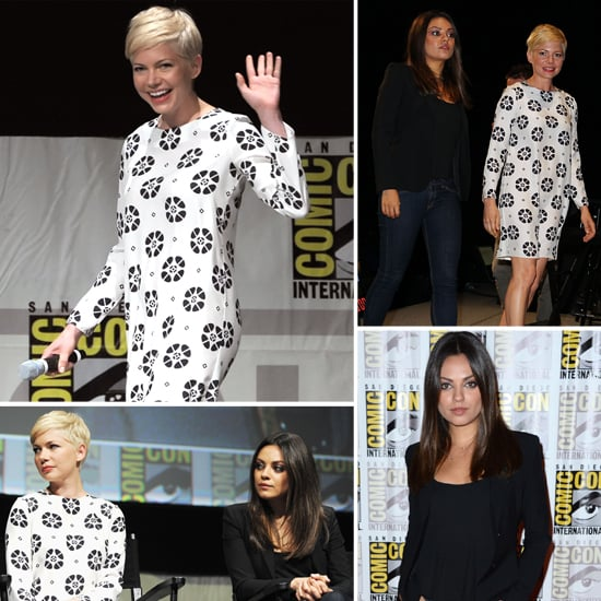 Michelle Williams at Comic-Con Pictures