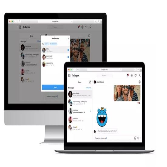 إنستغرام تدعم ميزة الرسائل المباشرة في منصتها عبر الويب 2020
