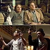 James Franco and Seth Rogen