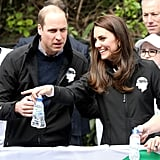 Prince William and Kate Middleton Attended the 2017 Virgin Money London Marathon
