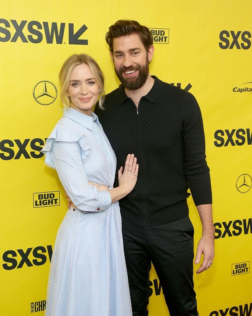 John Krasinski and Emily Blunt at SXSW March 2018
