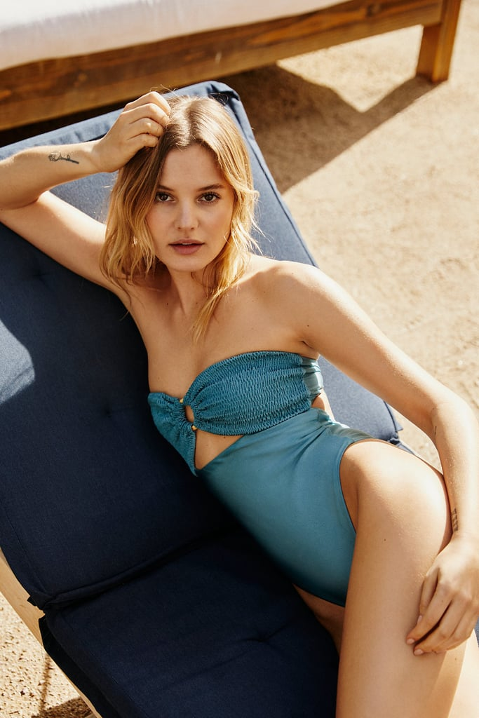 Rove India Solid One-Piece Swimsuit