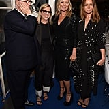 With Manolo Blahnik, Ronnie Cook-Newhouse, and Stella McCartney.